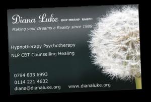 Diana Luke Hypnotherapy Psychotherapy Sheffield