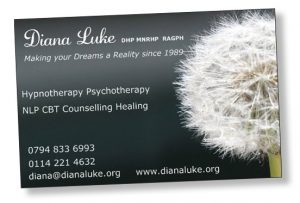 Diana Luke Business Card